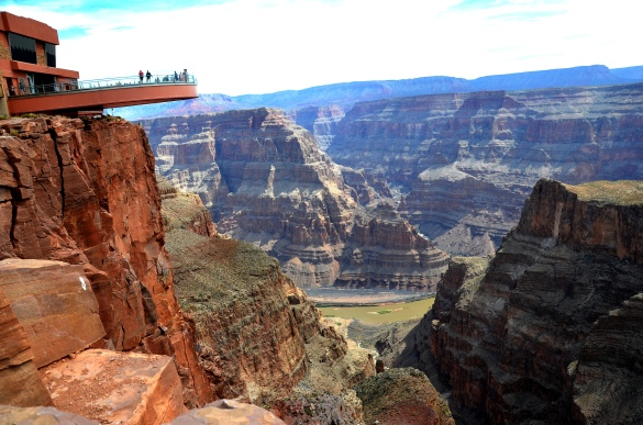 The Skywalk located at Eagle Point at the West Rim