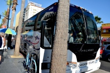 Lassen Tours Bus in Hollywood