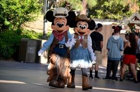 Western Mickey and Minnie